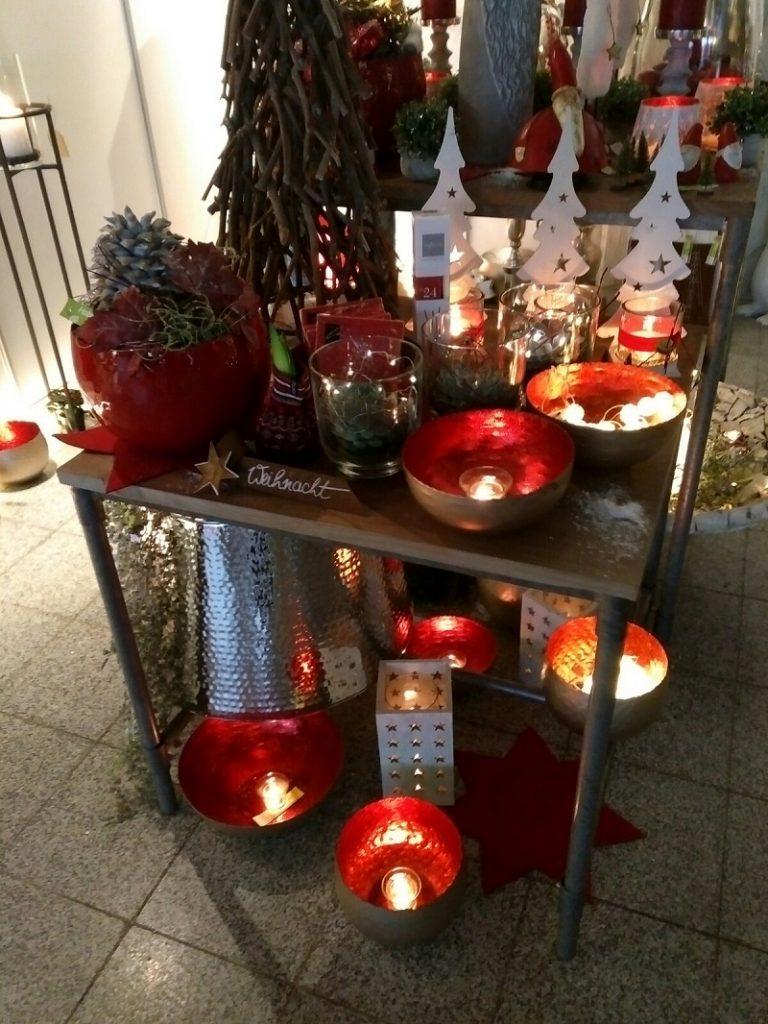 Weihnachtsdekoration Plaza Culinaria