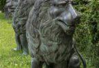 Bronze Löwen Rickenbach