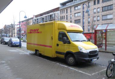 DHL Deutsche Post Paketporto