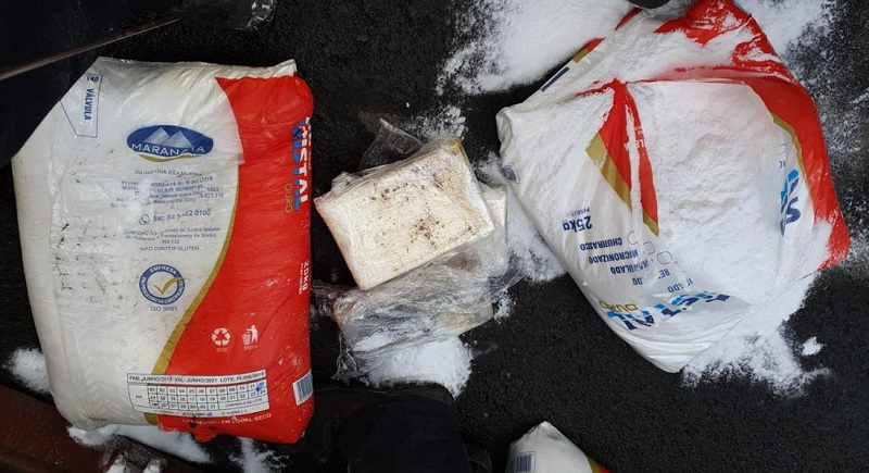 Kokain im Salz-Sack - Schmuggel durch Spediteur