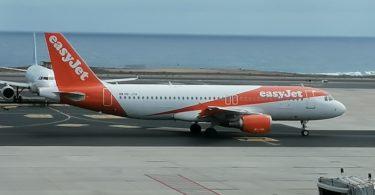 Easyjet-Flugzeug