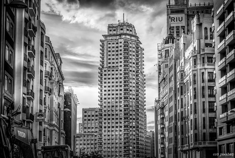 Madrid-skyline