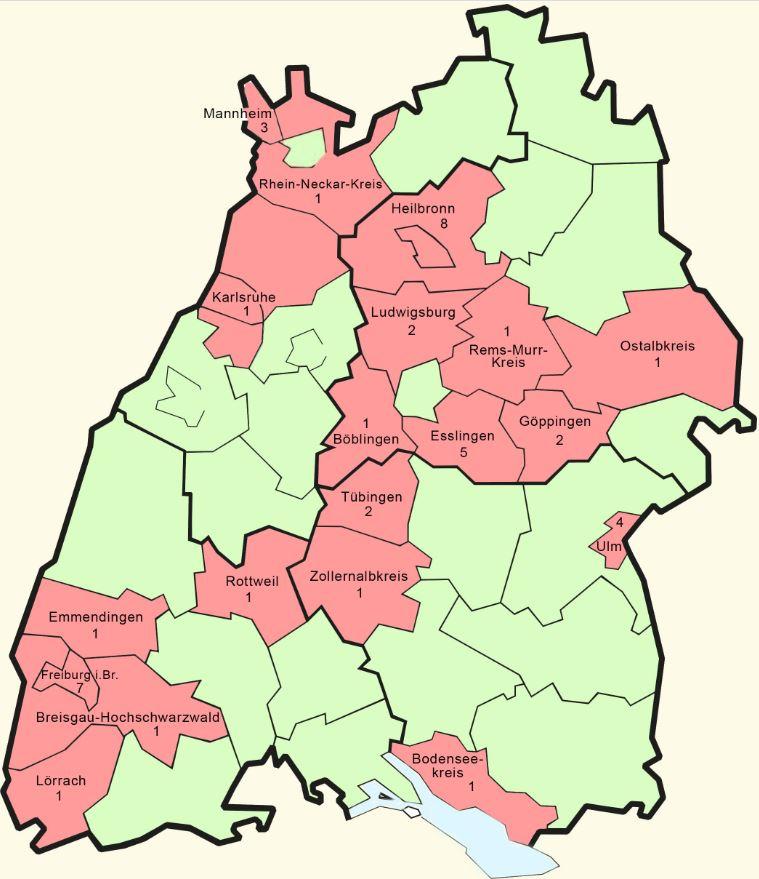 Coronavirus Baden Württemberg