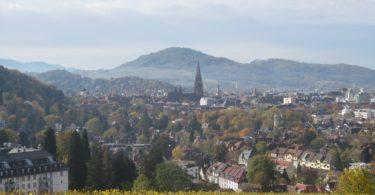 Freiburg Stadtansicht