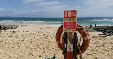 Strand Fuerteventura Ausgangssperre Spanien Corona