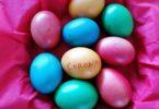 Corona Ostern Eier