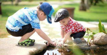 Kinder-Wasser-Spielen