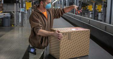UPS-paketdienst-verteilzentrum