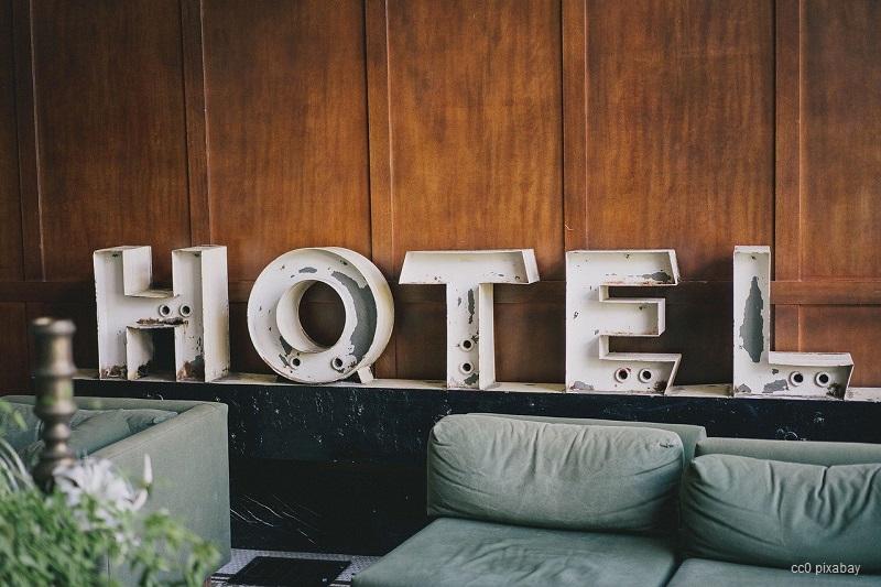hotel-schild