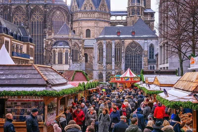 Weihnachtmarkt Aachen