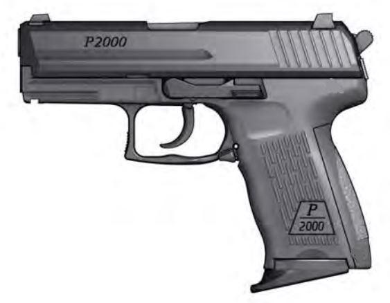 Pistole P 2000