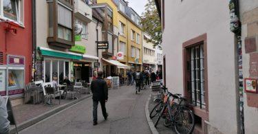 Messerstecher Freiburg Altstadt Niemensstrasse