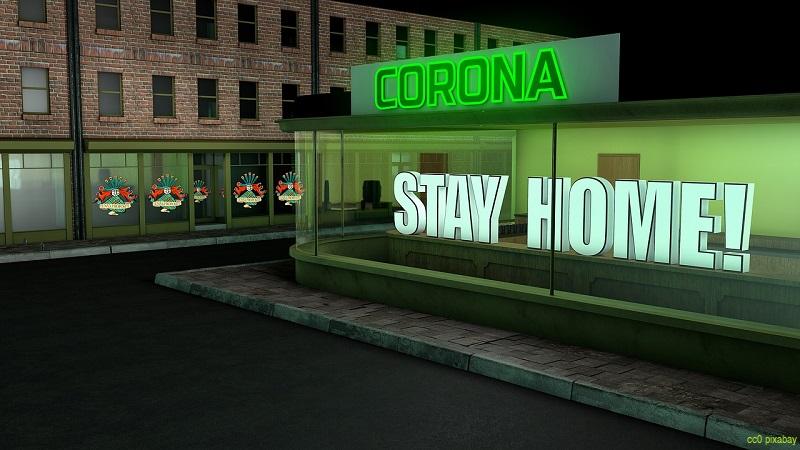 Ausgangssperre-coronavirus