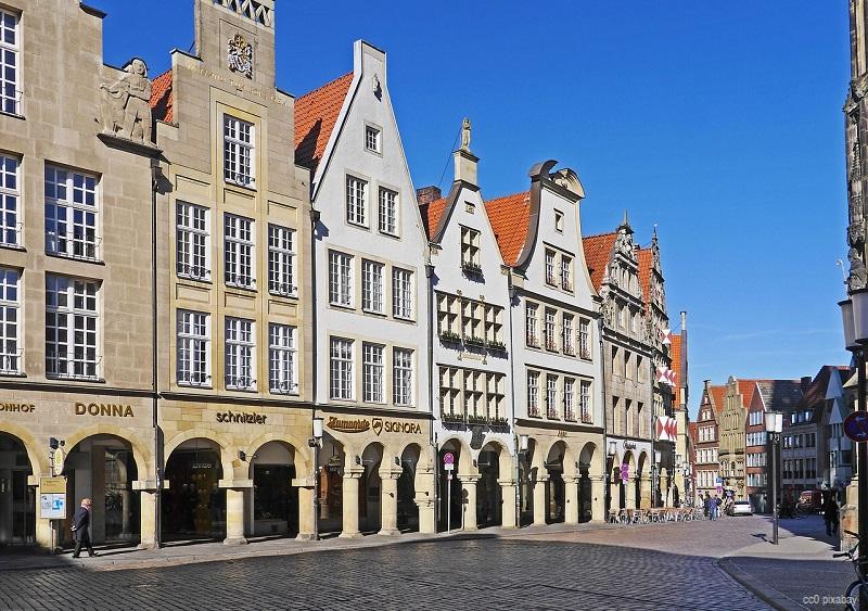 Münster Westfalen Prinzipalmarkt