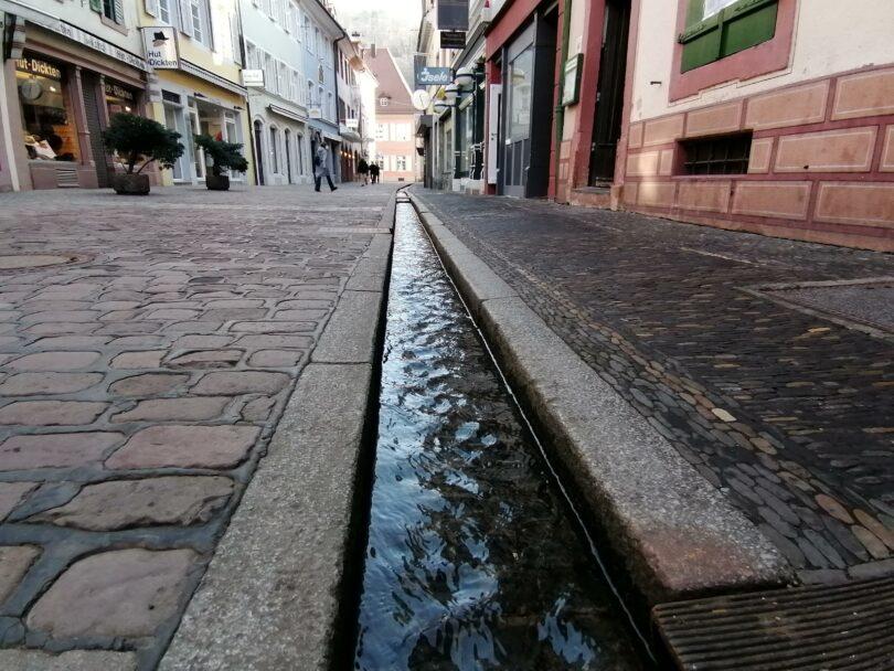 Bächlein-Freiburg-Altstadt