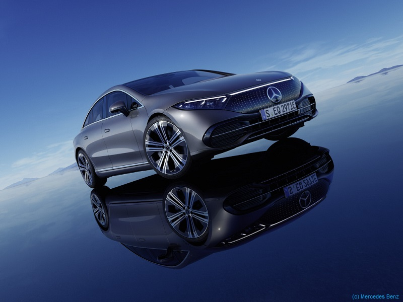 Mercedes Benz EQS elektrisch