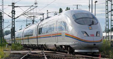 ICE Regenbogen Deutsche Bahn